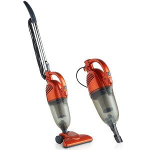 VonHaus 2 in 1 Corded Bagless Lightweight Stick Vacuum Cleaner and Handheld Vacuum with Swivel, HEPA Filtration