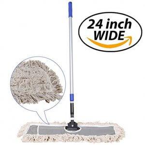 """image of JINCLEAN 24"""" Industrial Class Cotton Floor Mop"""