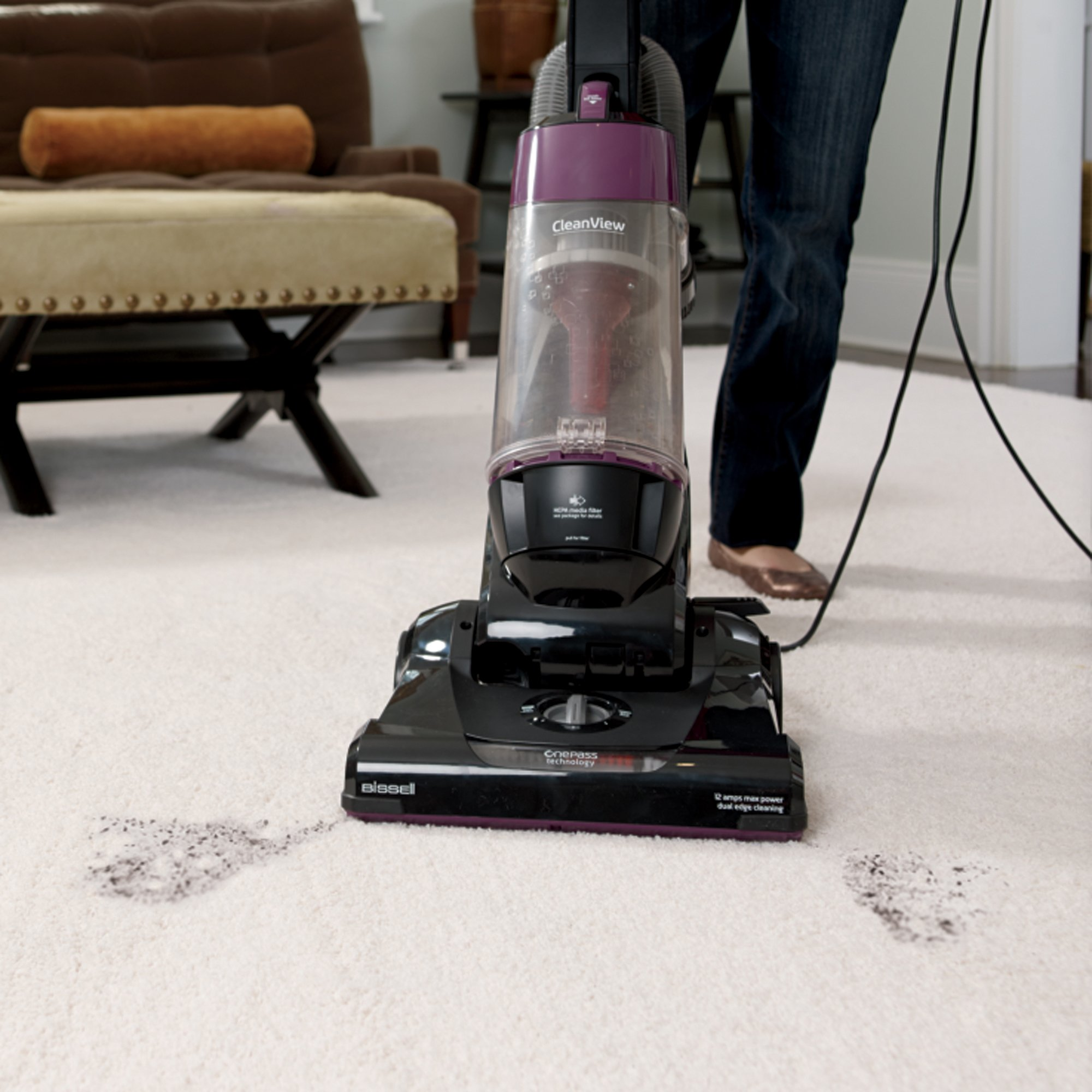 Bissell 9595A best vacuum for high pile carpet