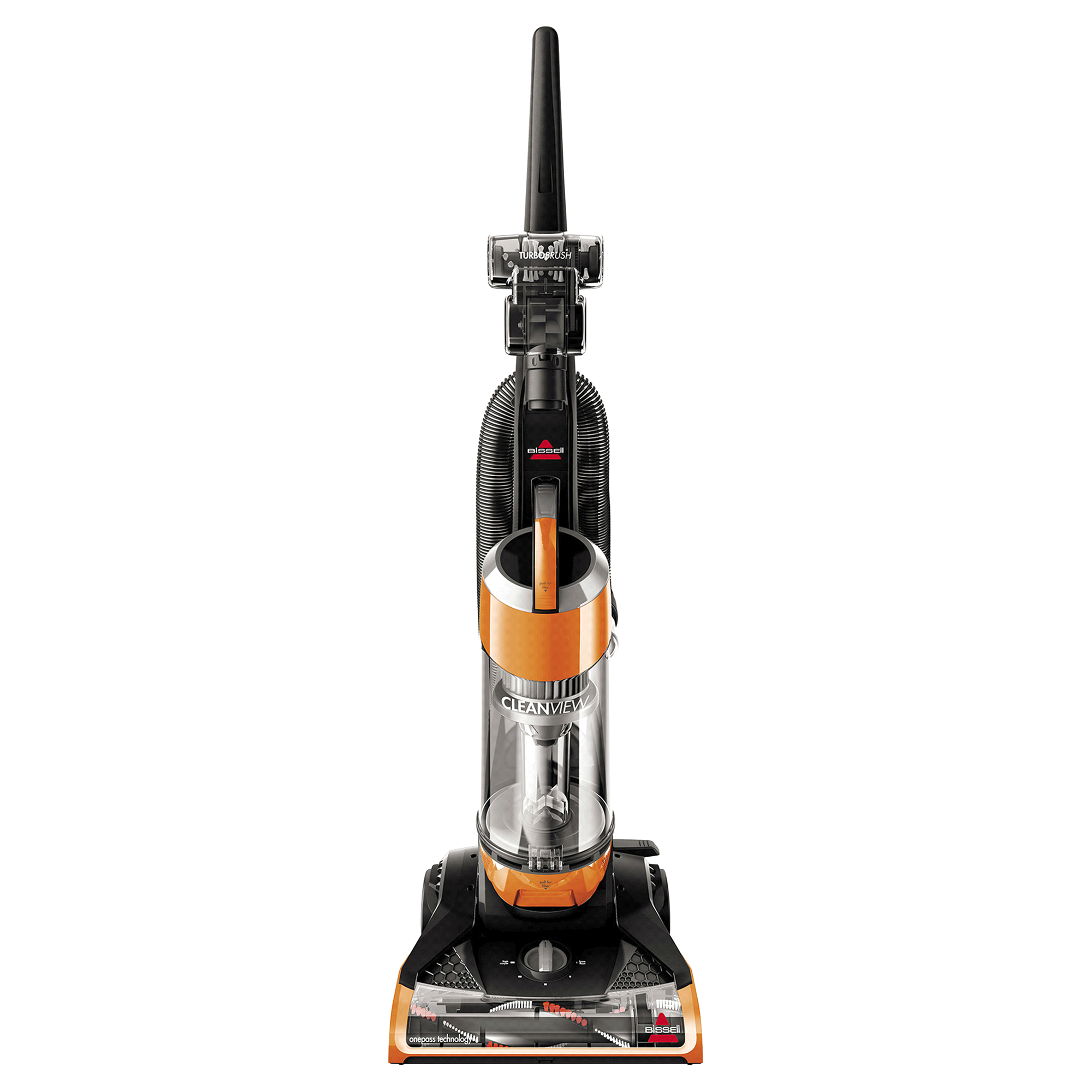 Bissell Cleanview Upright Bagless Vacuum Cleaner with OnePass Technology