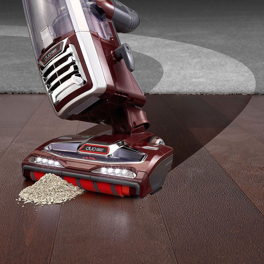 Shark DuoClean Powered Lift-Away Speed Upright Vacuum, Cinnamon (NV803)